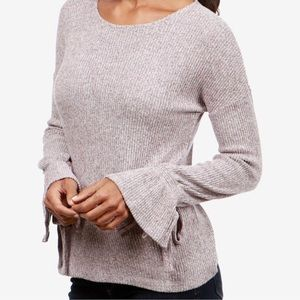 Lucky Brand Ribbed Sweater Size Small Bell Sleeve